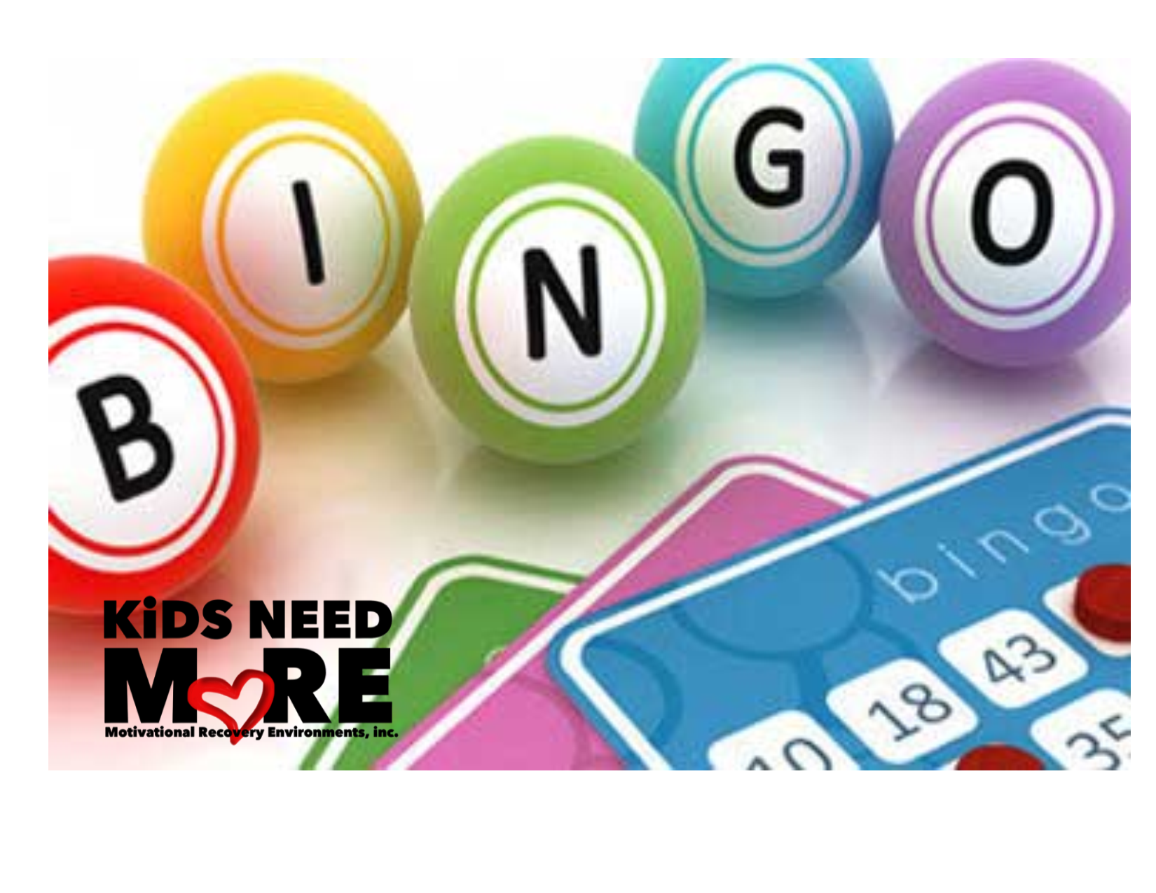 KiDS NEED MoRE Virtual BiNGo!